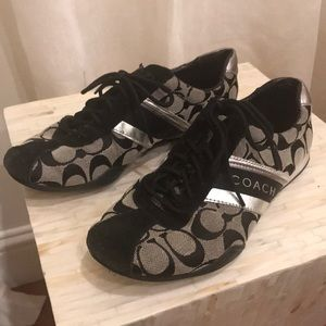 Size 8 Coach Sneakers